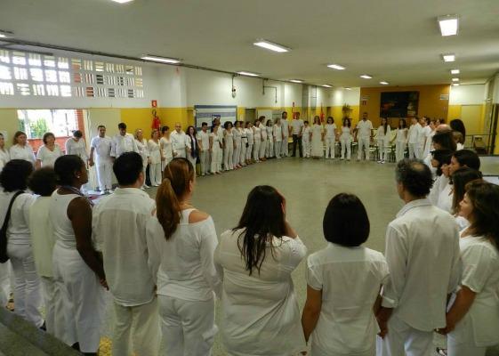 Kuan Yin abriu seus mil braços e os estendeu aos braços de cada um dos facilitadores!