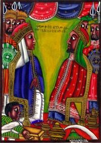 Rainha de Sabá e o Rei Salomão