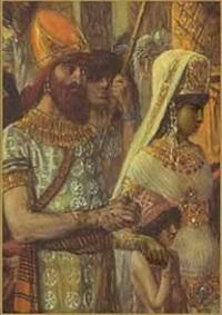 A rainha de Sabá e o Rei Salomão